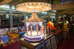 Templo de Gangaramaya em Colombo Imagens de Stock