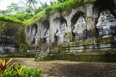 Templo de Ganung Kawi Fotos de archivo