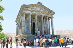 Templo de Garni Imagen de archivo libre de regalías