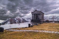 Templo de Garni Foto de archivo libre de regalías