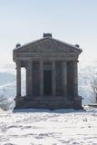 Templo 1 de Garni Imagen de archivo libre de regalías