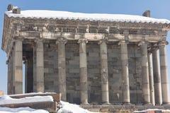 Templo 2 de Garni Fotos de archivo libres de regalías