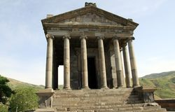 Templo de Garni, Arménia Fotos de Stock Royalty Free