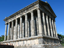 Templo de Garni, Arménia Fotos de Stock