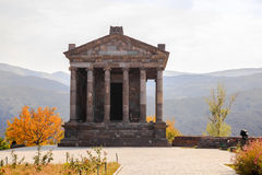Templo de Garni, Armenia Imágenes de archivo libres de regalías