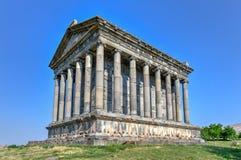 Templo de Garni - Armenia fotos de archivo libres de regalías