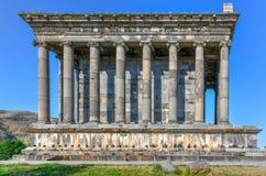 Templo de Garni - Armenia imagen de archivo libre de regalías