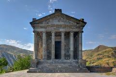 Templo de Garni - Armenia fotografía de archivo libre de regalías
