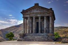 Templo de Garni - Armenia imagen de archivo