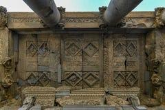 Templo de Garni - Armenia imágenes de archivo libres de regalías