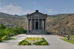 Templo de Garni - Armenia foto de archivo libre de regalías