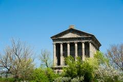 Templo de Garni, Arménia Imagem de Stock