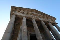 Templo de Garni em Arménia foto de stock royalty free