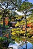 Templo de Ginkaku-ji em Kyoto Imagem de Stock