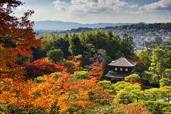 Templo de Ginkaku-ji em Kyoto Fotografia de Stock Royalty Free
