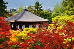 Templo de Ginkaku-ji em Kyoto Imagens de Stock