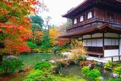 Templo de Ginkakuji Fotografia de Stock