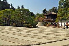 Templo de Ginkakuji fotos de stock royalty free