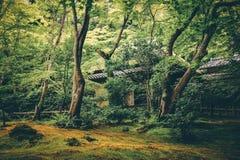 Templo de Gion, Kyoto, Jap?o foto de stock