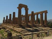Templo de Giunone Imagen de archivo libre de regalías