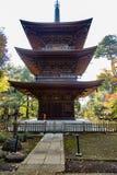 Templo de Gotokuji, no Tóquio fotografia de stock
