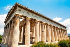 Templo de Grecia a dioses fotografía de archivo libre de regalías