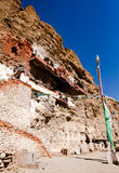 Templo de Gu Pu'er no precipício Imagens de Stock Royalty Free
