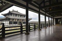 Templo de Guangming, templo chinês do estilo da dinastia de Tang, Sichuan fotos de stock royalty free