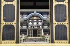 Templo de Guangming, templo chinês do estilo da dinastia de Tang, Sichuan fotos de stock