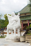Templo de Guanyin Buda cerca de la ciudad de Danang, Vietnam Fotografía de archivo