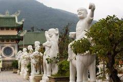 Templo de Guanyin Buda cerca de la ciudad de Danang, Vietnam Fotos de archivo libres de regalías