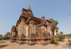 Templo Bagan de Gubyaukgyi Foto de archivo libre de regalías