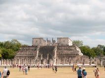 Templo de 1000 guerreros Fotografía de archivo