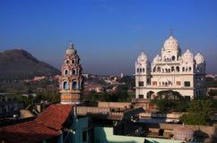 Templo de Gurudwara en Pushkar, la India fotografía de archivo libre de regalías