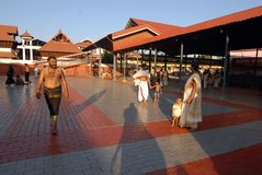 Templo de Guruvayur Imagen de archivo libre de regalías