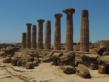 Templo de Hércules Imágenes de archivo libres de regalías