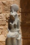 Templo de Habu - Egito fotos de stock royalty free