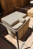 Templo de Habu - Egito fotografia de stock