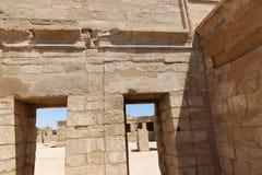 Templo de Habu - Egito fotografia de stock royalty free