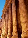 Templo de hadrian Fotografía de archivo libre de regalías