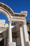 Templo de Hadrian, Ephesus, Turquía, Foto de archivo