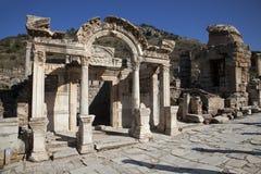 Templo de Hadrian, Ephesus, Turquia Imagens de Stock Royalty Free