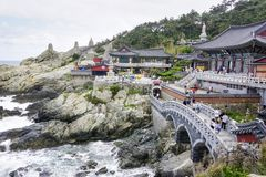 Templo de Haedong Yeonggungsa foto de stock royalty free