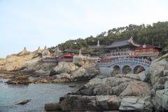 Templo de Haedong Yonggung imagem de stock royalty free