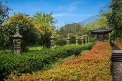 Templo de Hangzhou Yongfu Imágenes de archivo libres de regalías