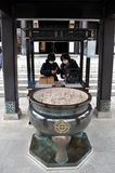 Templo de Hase-dera imagenes de archivo
