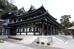 Templo de Hasedera, el templo famoso en la ciudad de Kamakura, Japa Fotografía de archivo libre de regalías