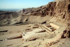 Templo de Hatchepsut Imagenes de archivo