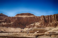 Templo de Hatshepsut imagens de stock royalty free