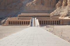 Templo de Hatshepsut fotografia de stock